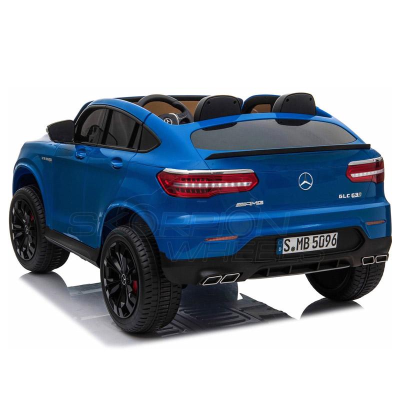 ScorpionWheels Ηλεκτροκίνητο παιδικό αυτοκίνητο Licenced Mercedes GLC 63S AMG 12v διθέσιο με τηλ/τρόλ Μπλε 5248065