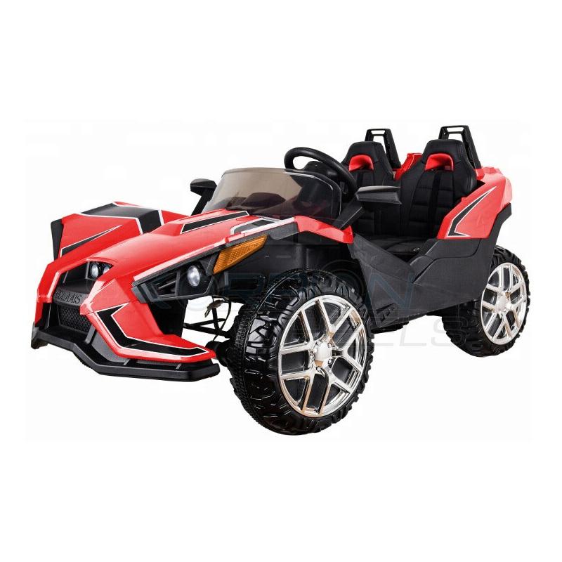 SkorpionWheels Ηλεκτροκίνητο παιδικό αυτοκίνητο τύπου Atom 12v με τηλ/ρόλ κόκκινο 5248080