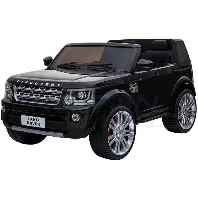ScorpionWheels Ηλεκτροκίνητο διθέσιο παιδικό αυτοκίνητο Licenced Land Rover Discovery 12v με τηλ/τρόλ Μαύρο 5248091