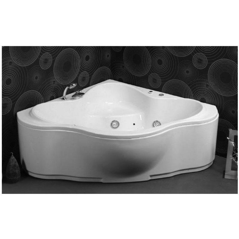 Ακρυλική Μπανιέρα Γωνιακή με υδρομασάζ  Sanitec MIranda 150 x 150 cm