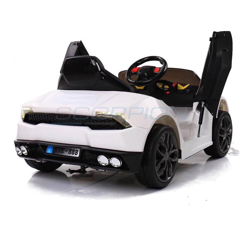 ScorpionWheels Ηλεκτροκίνητο παιδικό αυτοκίνητο τύπου Lamborghini 12v με τηλεκοντρόλ Λευκό 5246019