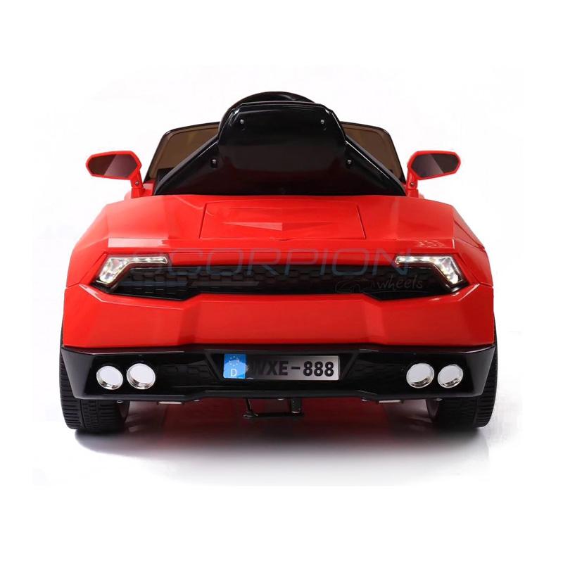 ScorpionWheels Ηλεκτροκίνητο παιδικό αυτοκίνητο τύπου Lamborghini 12v με τηλεκοντρόλ κόκκινο 5246019
