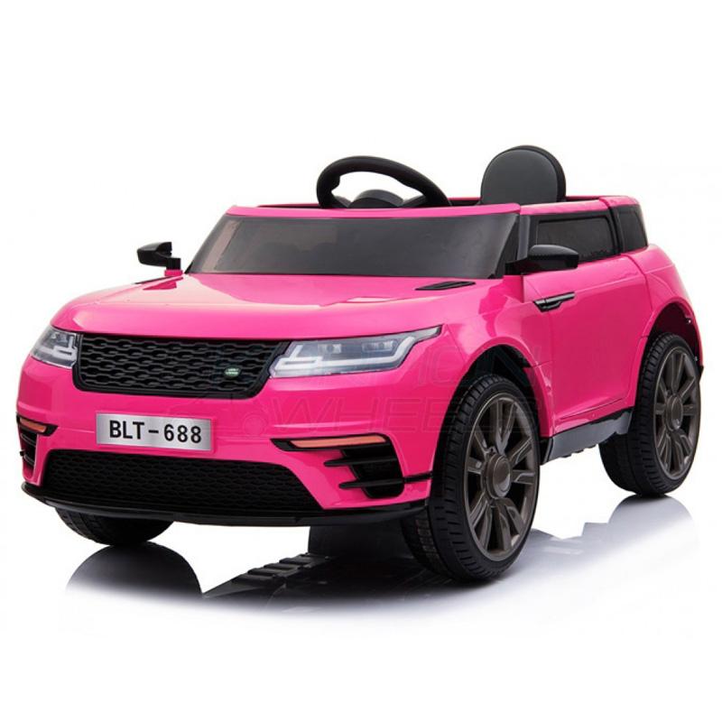 SkorpionWheels Ηλεκτροκίνητο παιδικό αυτοκίνητο τύπου Range Rover 12v με τηλεκοντρόλ Ροζ 5246054