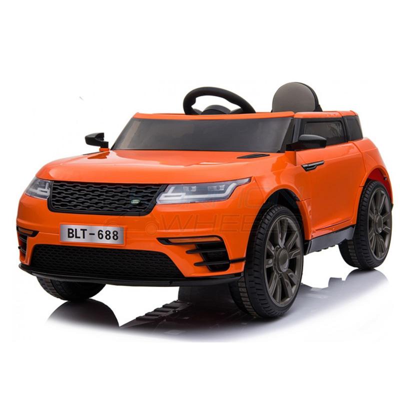 SkorpionWheels Ηλεκτροκίνητο παιδικό αυτοκίνητο τύπου Range Rover 12v με τηλ/ρόλ και οθόνη video  Πορτοκαλί 52460541