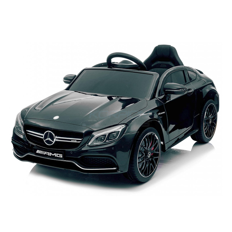 ScorpionWheels Ηλεκτροκίνητο παιδικό αυτοκίνητο Licenced Mercedes Benz 12v με τηλ/ρόλ Μαύρο 5246063