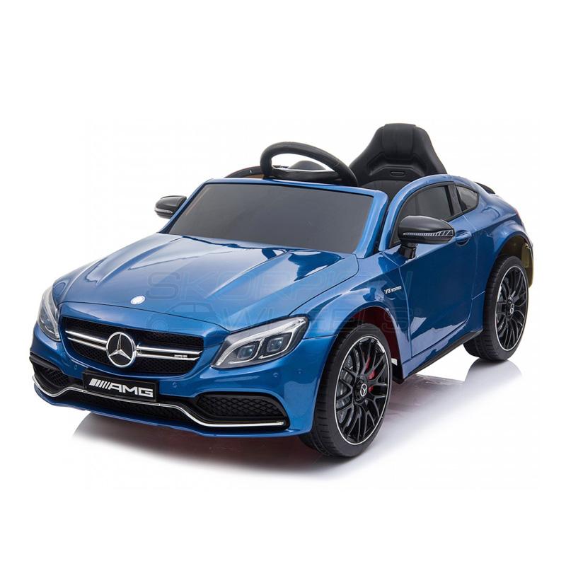 ScorpionWheels Ηλεκτροκίνητο παιδικό αυτοκίνητο Licenced Mercedes Benz 12v με τηλ/ρόλ Μπλε 5246063