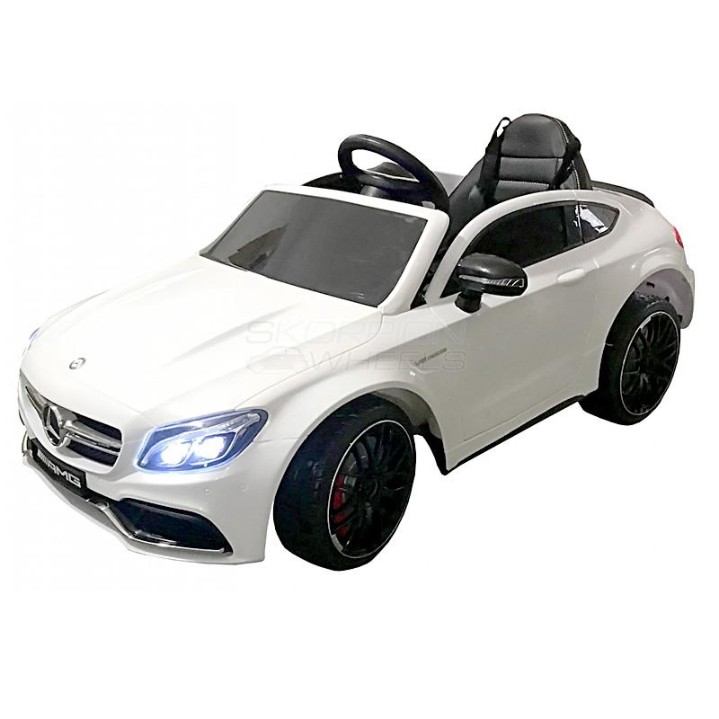 ScorpionWheels Ηλεκτροκίνητο παιδικό αυτοκίνητο Licenced Mercedes Benz 12v με τηλ/ρόλ Λευκό 5246063