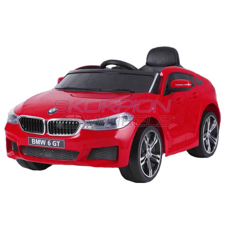 SkorpionWheels Ηλεκτροκίνητο παιδικό αυτοκίνητο τύπου BMW 6 GT 12v με τηλεκοντρόλ κόκκινο 5246064
