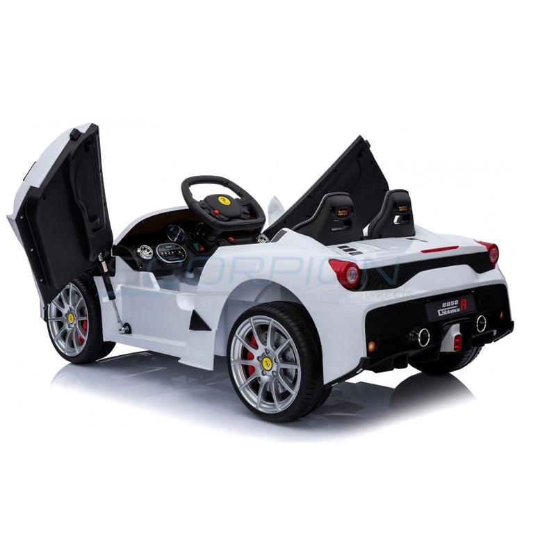 ScorpionWheels Ηλεκτροκίνητο παιδικό αυτοκίνητο τύπου Ferrari 12v Λευκό με τηλεκοντρόλ 5246088