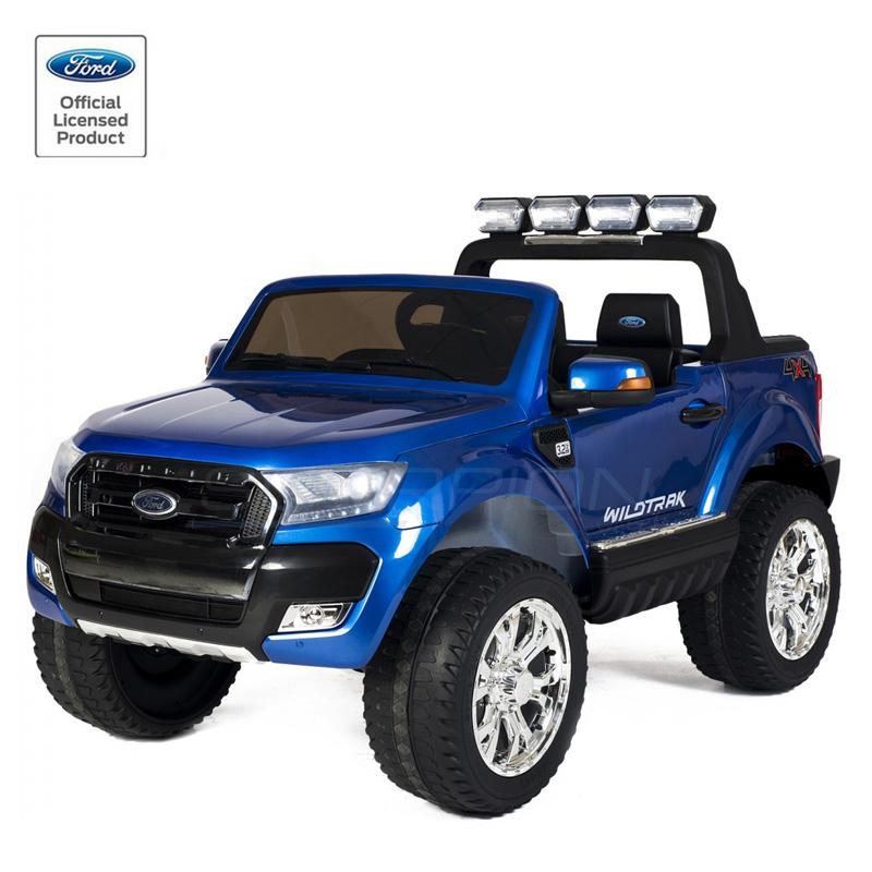 ScorpionWheels Ηλεκτροκίνητο διθέσιο παιδικό αυτοκίνητο Licenced Ford Ranger 4X412v με τηλ/τρόλ πορτοκαλί 5247084