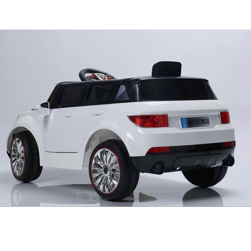 Ηλεκτροκίνητο παιδικό αυτοκίνητο τύπου Range Rover  Λευκό 12V με τηλεκοντρόλ  WXE7188