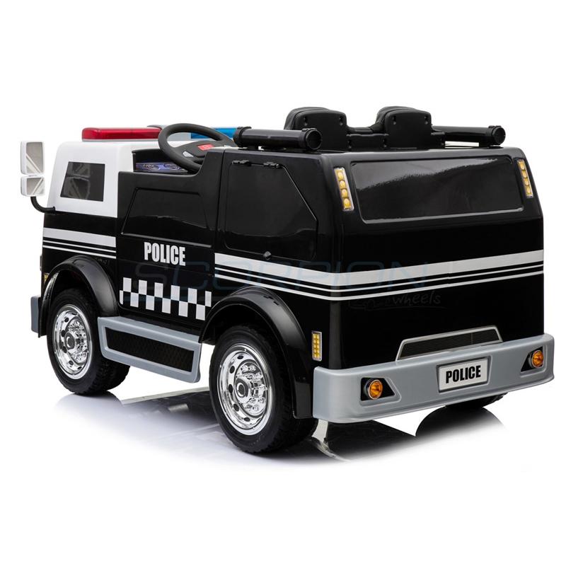 ScorpionWheels Ηλεκτροκίνητο παιδικό φορτηγό Αστυνομίας Action Alert  12v με τηλ/ρόλ 5248010