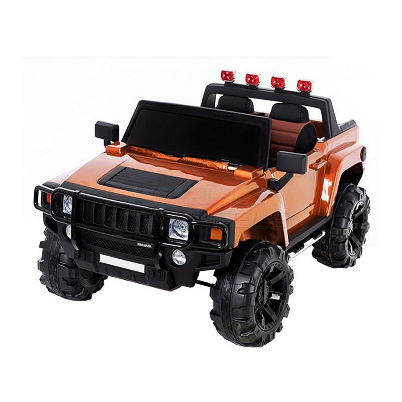 ScorpionWheels Ηλεκτροκίνητο παιδικό αυτοκίνητο τύπου Hammer 12v Πορτοκαλί με τηλ/ρόλ  5248018