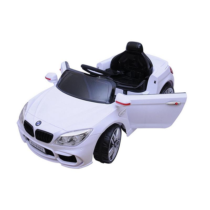 Ηλεκτροκίνητο παιδικό αυτοκίνητο τύπου BMW με τηλεκοντρόλ, ελαστικά 12V HJ-8383 Κόκκινο