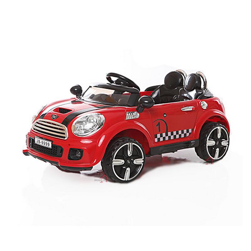 Ηλεκτροκίνητο παιδικό αυτοκίνητο τύπου MINI  COOPER Κόκκινο 12V με τηλεκοντρόλ  JD-9999