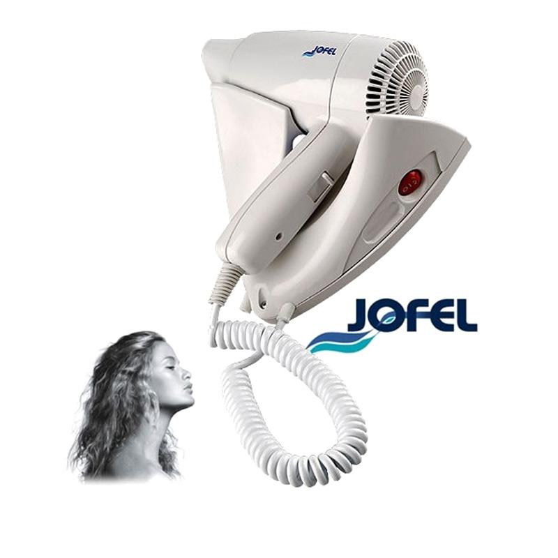Σεσουάρ μαλλιών 1400w με βάση τοίχου JOFEL AB65000