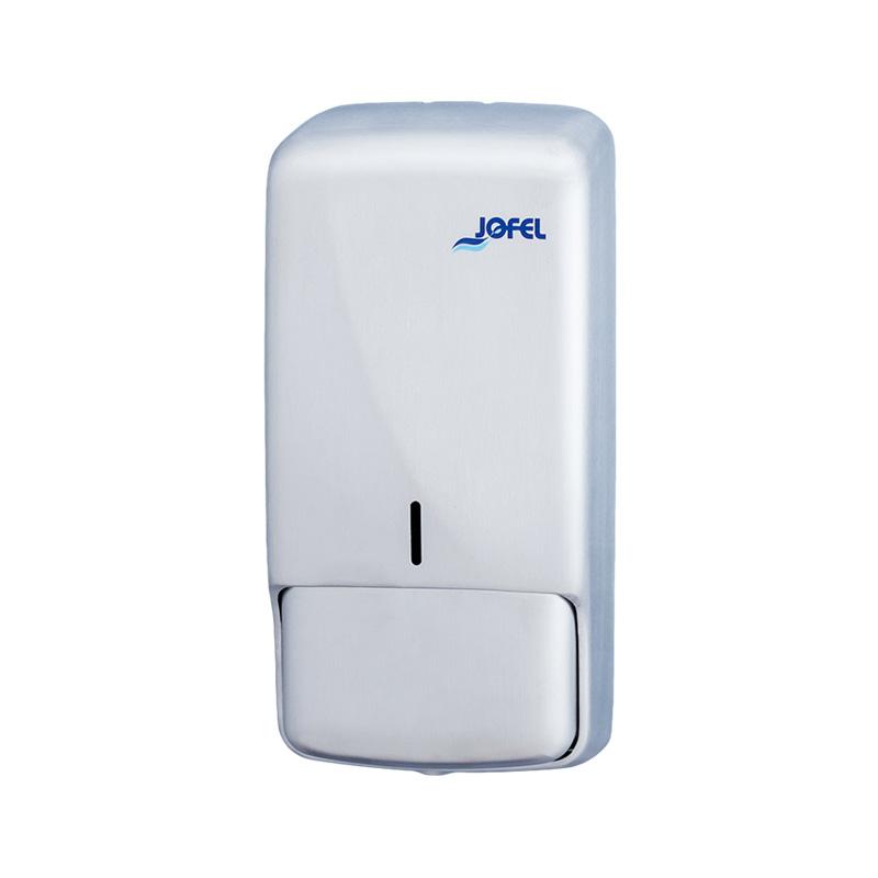 Σαπουνοθήκη τοίχου  INOX  850ml της JOFEL  AC53550