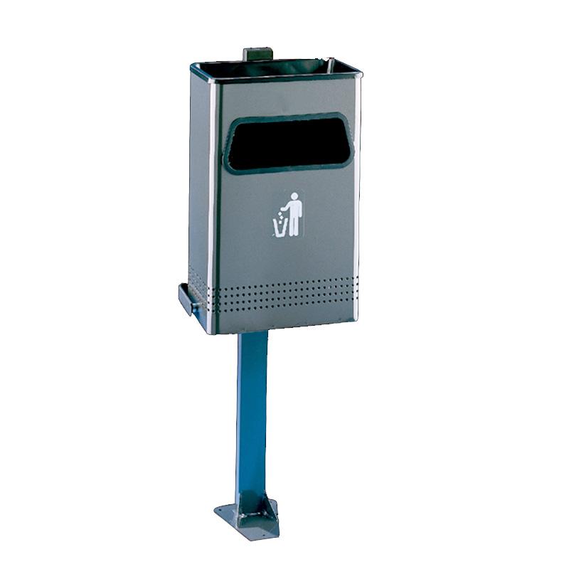 Μεταλλικός κάδος σκουπιδιών 40lt  JOFEL AL72710G