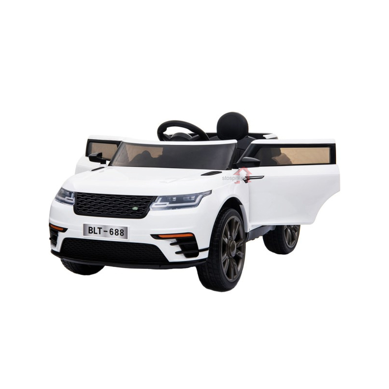 Ηλεκτροκίνητο παιδικό αυτοκίνητο τύπου Range Rover  Λευκό 12V με τηλεκοντρόλ  BLT688