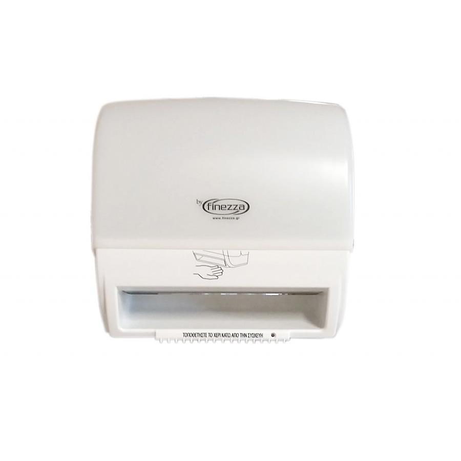 Συσκευή τροφοδοσίας χαρτιού autocut λευκή με φωτοκύτταρο Finezza Mini Q