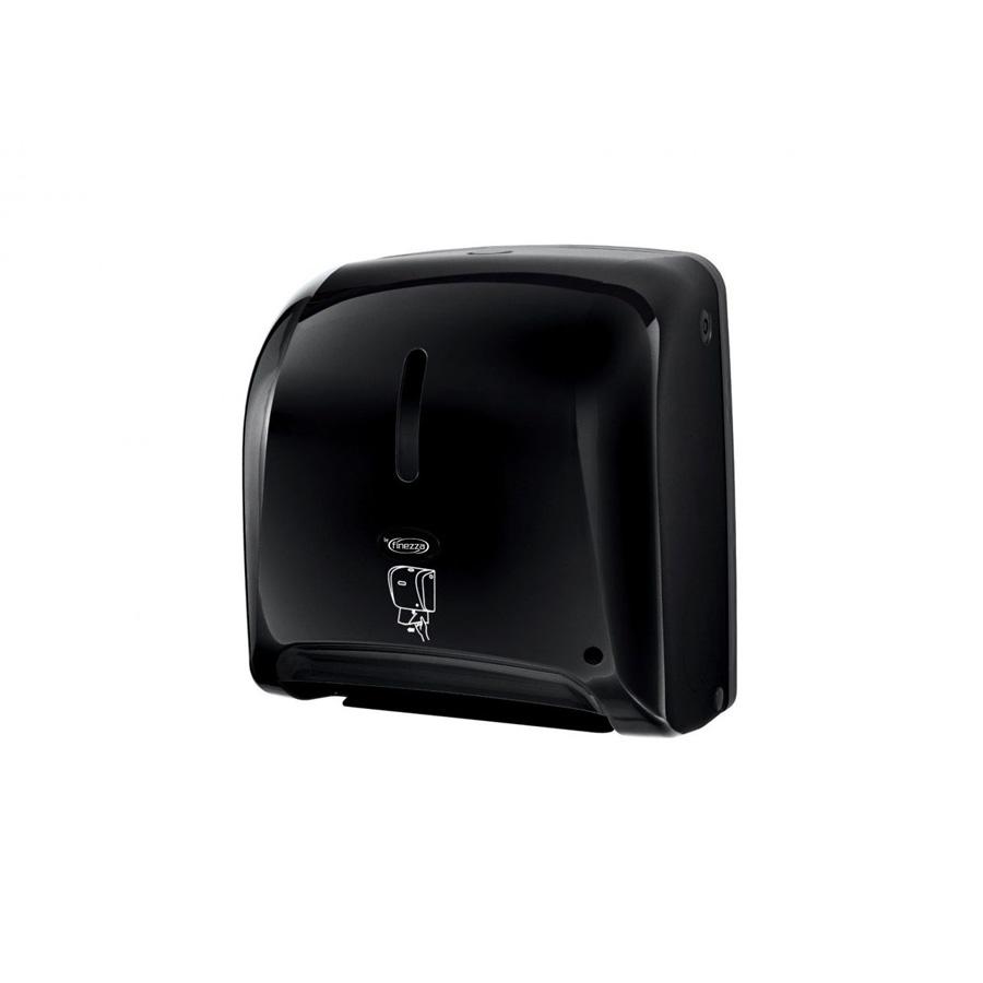 Συσκευή τροφοδοσίας χαρτιού autocut μαύρη με φωτοκύτταρο Finezza Tear n' Dry Mini