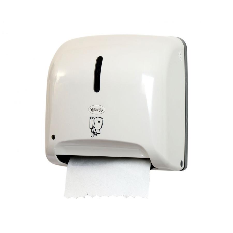 Συσκευή τροφοδοσίας χαρτιού autocut λευκή με φωτοκύτταρο Finezza Tear n' Dry Mini
