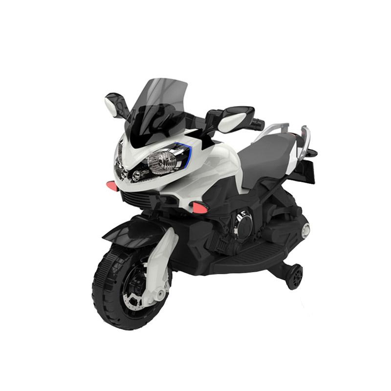 Ηλεκτροκίνητη παιδικη μοτοσυκλέτα / μηχανή JB 1188 12v Λευκή