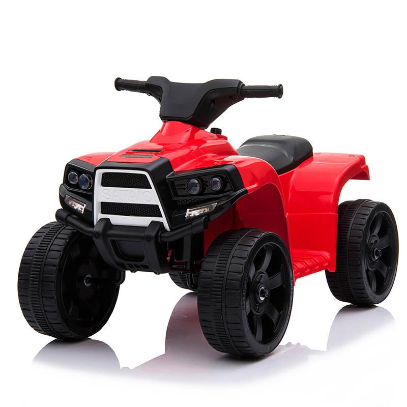 Ηλεκτροκίνητη παιδικη μοτοσυκλέτα / Γουρούνα 6V Κόκκινη JC-912