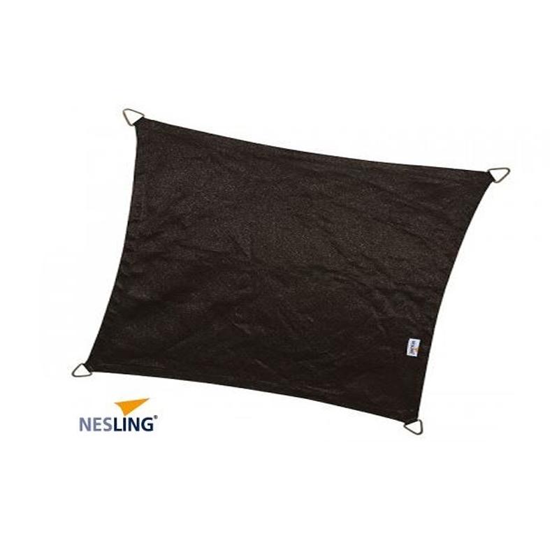 Παραλληλόγραμμο πανί σκίασης 285gsm 3x5m χρώμα μαύρο