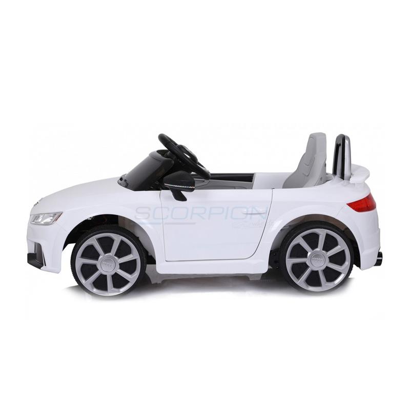ScorpionWheels Ηλεκτροκίνητο παιδικό αυτοκίνητο Licenced Audi TT RS 12v με τηλεκοντρόλ Λευκό 5246024