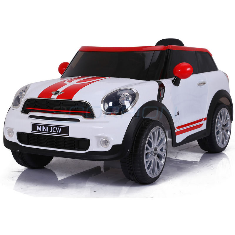 ScorpionWheels Ηλεκτροκίνητο παιδικό αυτοκίνητο  Mini Cooper Licensed 12v λευκό με τηλ/ντρόλ  5246058