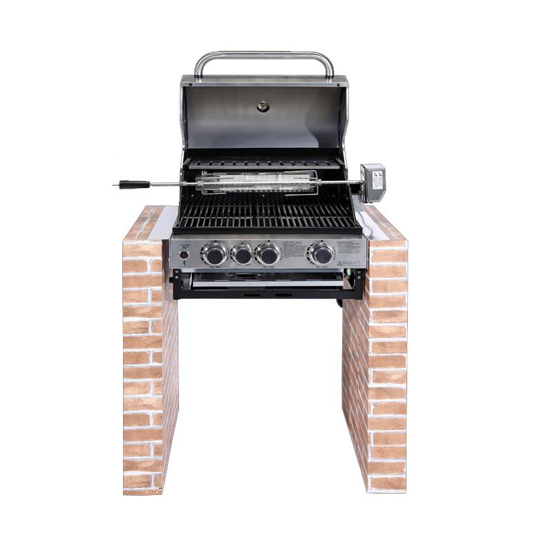 Ψησταριά Υγραερίου Εντοιχισμού COOK MASTER AMERICAN BBQ SEMI PRO 5