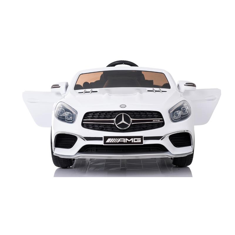 Ηλεκτροκίνητο παιδικό αυτοκίνητο Licenced Mercedes SL 65 12v με τηλεκοντρόλ Λευκό