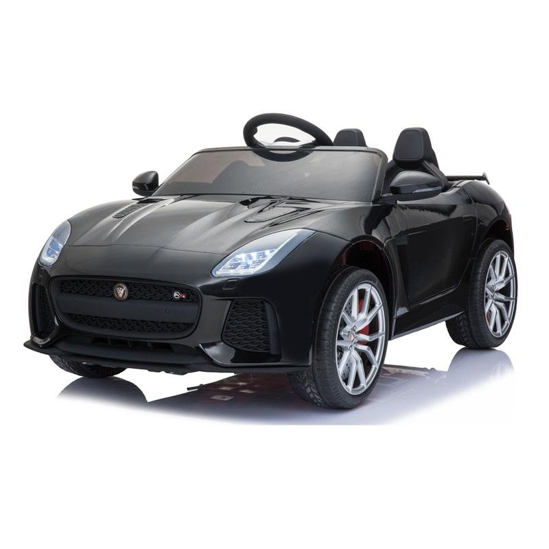 Ηλεκτροκίνητο παιδικό αυτοκίνητο Licenced Jaguar F-Type Ρ 12v με τηλεκοντρόλ Μαύρο