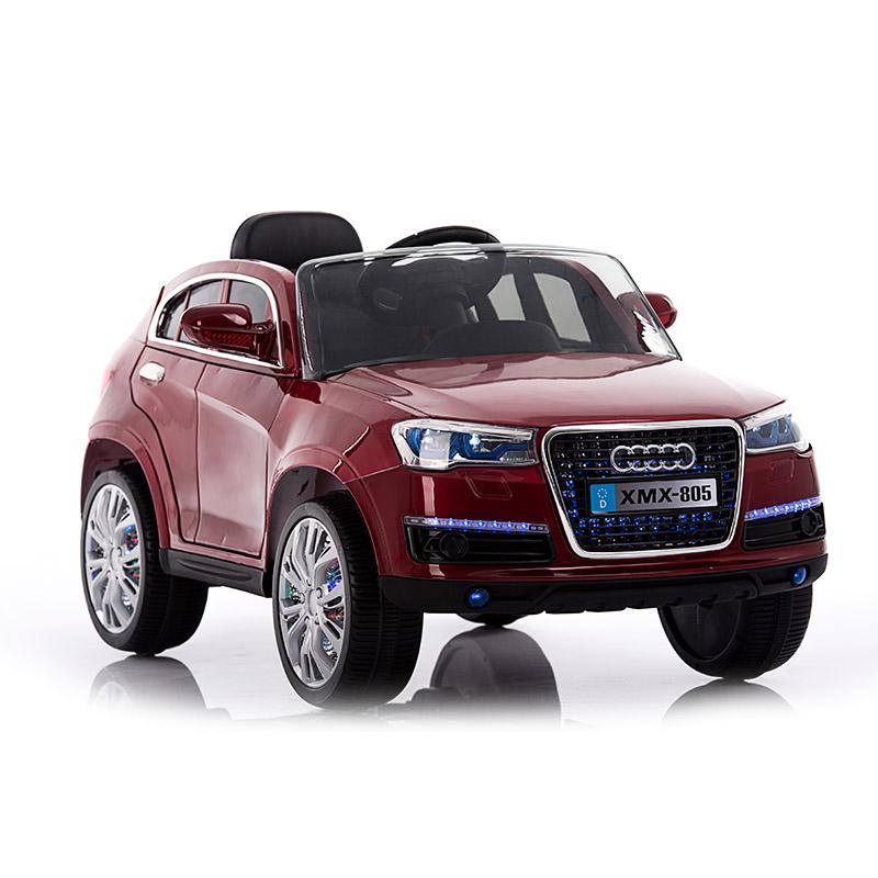 Ηλεκτροκίνητο παιδικό αυτοκίνητο τύπου Audi Q5  Δερμάτινο κάθισμα 12v με τηλεκοντρόλ Μπορντό