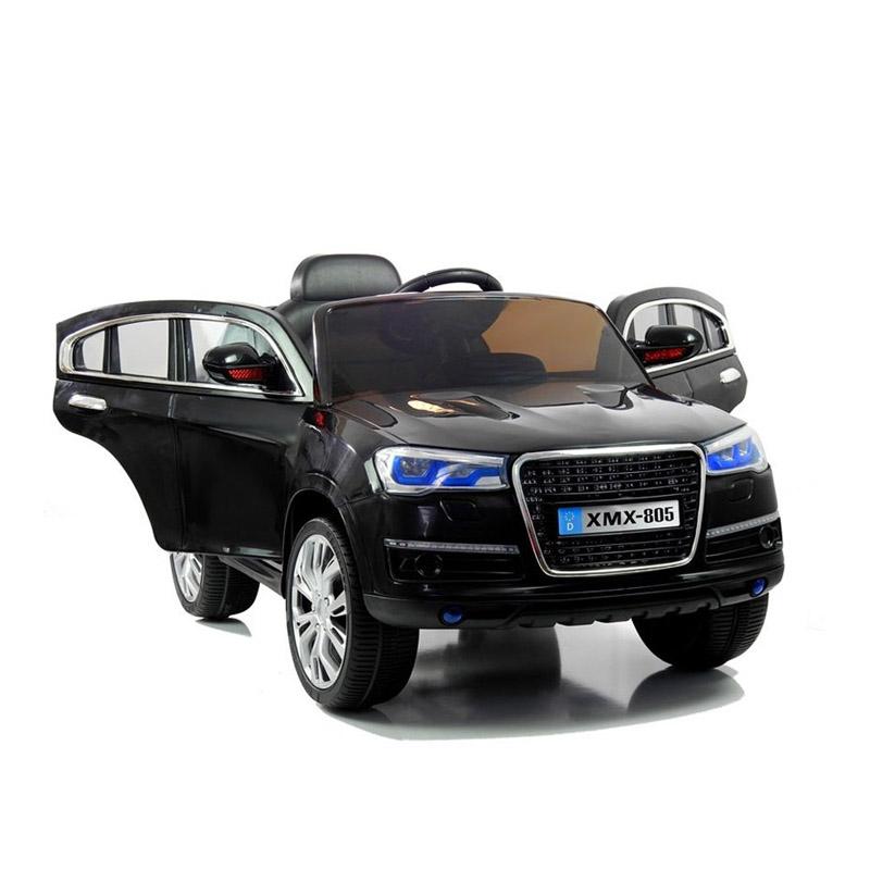 Ηλεκτροκίνητο παιδικό αυτοκίνητο τύπου Audi Q5  Δερμάτινο κάθισμα 12v με τηλεκοντρόλ Μαύρο