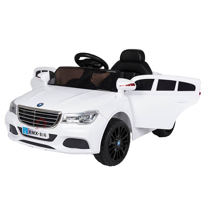 Ηλεκτροκίνητο παιδικό αυτοκίνητο τύπου Mercedes με τηλεκοντρόλ 12V XMX 816 Λευκό